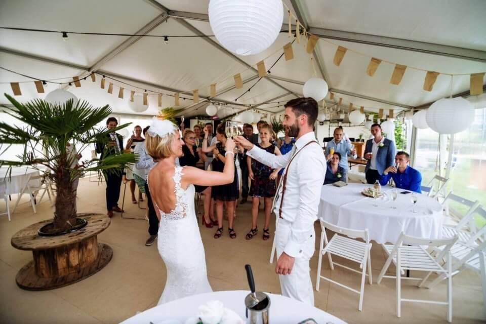 bruiloftstent huren