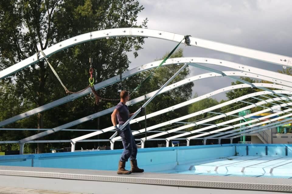 tent zwembad