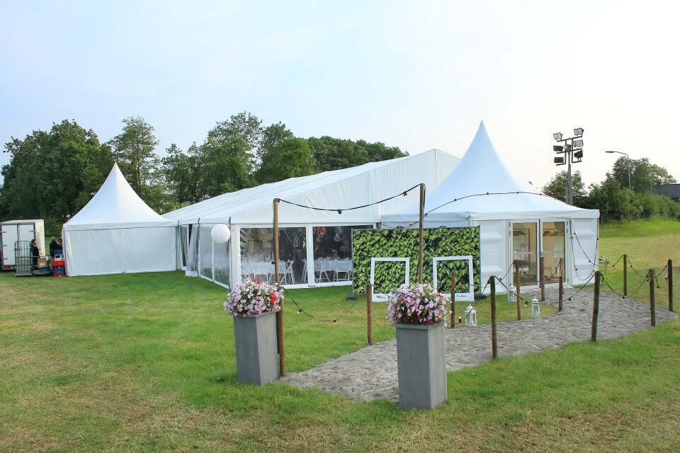 tent voor bruiloft