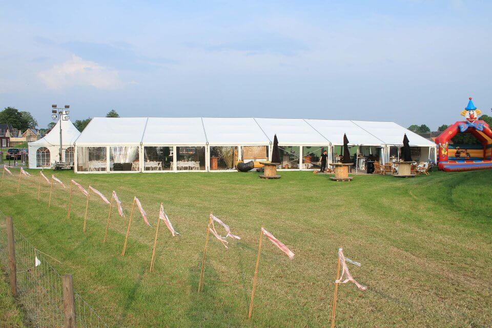 bruiloftsfeest tent