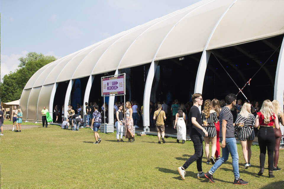 Armada huren voor festival