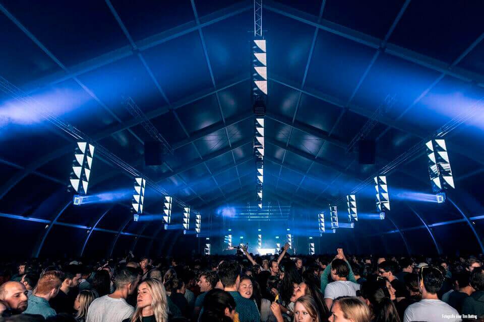 Armada tent huren voor festival