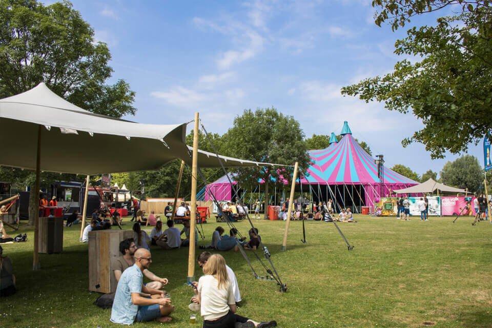 tenten verhuur festivals
