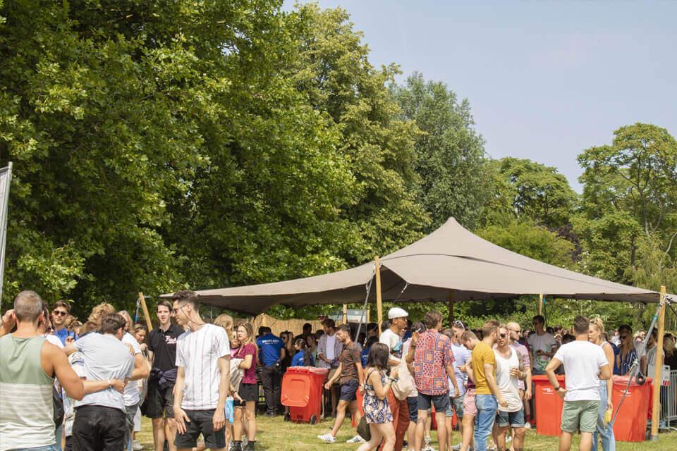 Stretchtent huren festival