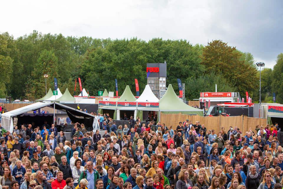 grote partytenten festivals
