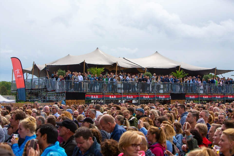 professionele festival tent
