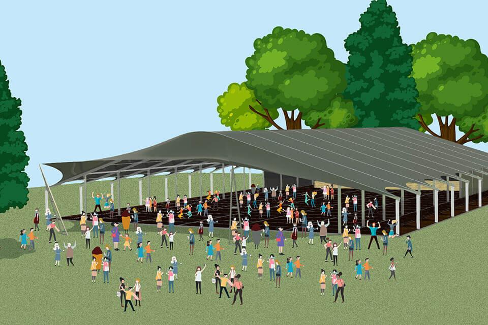 Huur een grote tent voor jouw festival of evenement