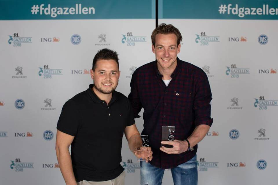 Gazelle Award winnaar Donselaar Tenten