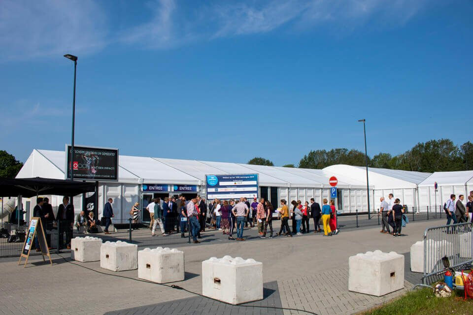 Tent Huren Bedrijfscongres | Impressie