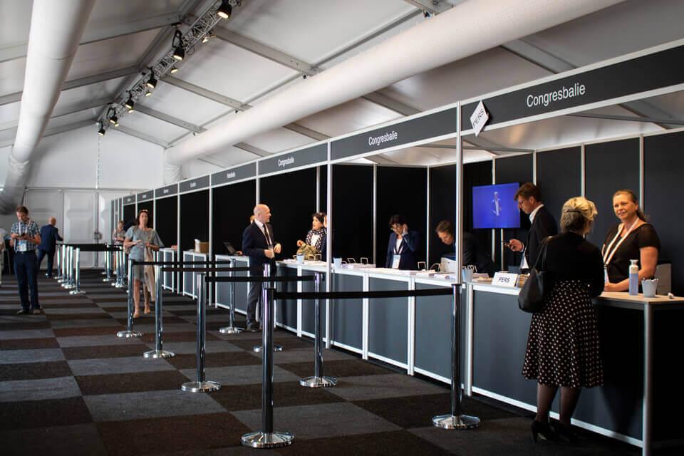 Tent Huren Bedrijfscongres